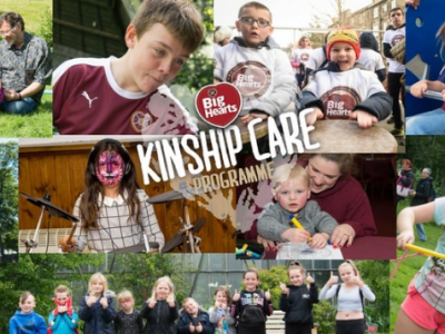 Big Hearts Kinship Family Day poster